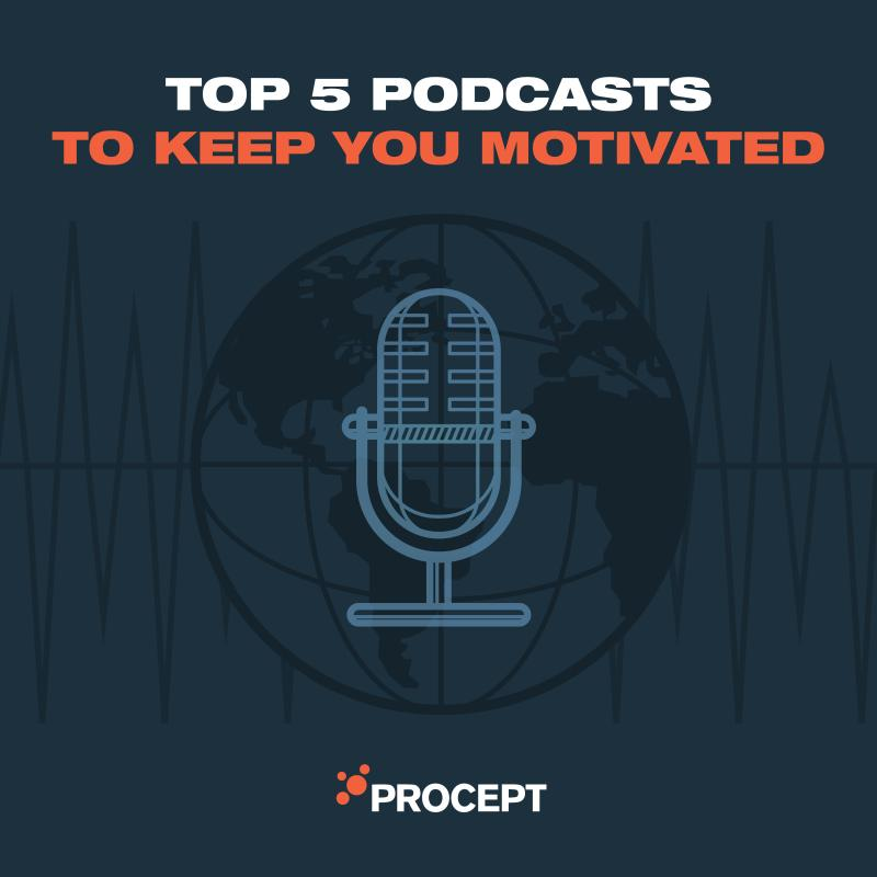 Top 5 Podcasts to Keep You Motivated
